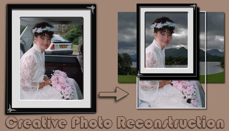Creative Photo Reconstruction Saltfleetby LN11