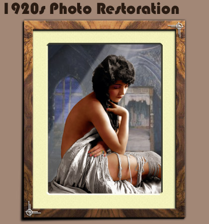 1920's Photo Restoration Marylebone W1