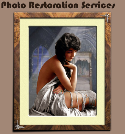 Photo Restoration Services Staveley S43