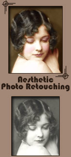Art Deco Photo Restoring -  Digital Photo Colouring - Stourport On Severn