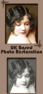 Picture Repairs and Alteration for Black and White or Colour Photos - Onecote