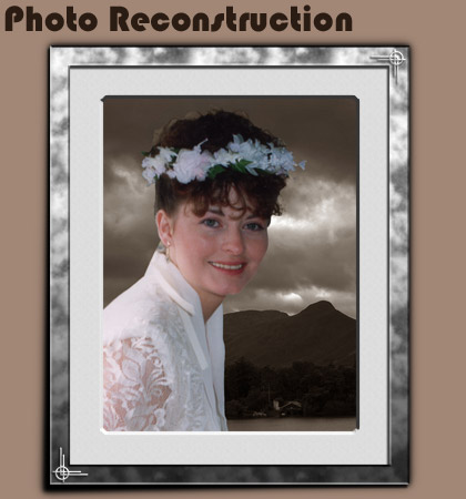 Uttoxeter ST14 Restoring Wedding Photos